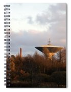 Lauttasaari Water Tower Spiral Notebook