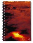Lava At Dawn Spiral Notebook