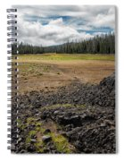 Lava Flow At Hand Lake Spiral Notebook