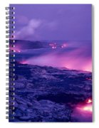 Lava Flows To The Sea Spiral Notebook