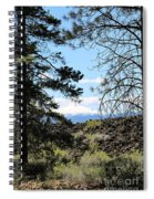 Lava Mountain Spiral Notebook
