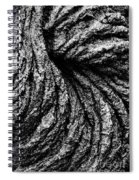 Lava Patterns - Bw Spiral Notebook