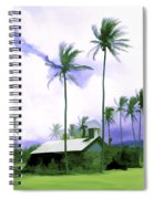 Lava Rock Church Spiral Notebook