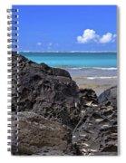 Lava Rocks At Haena Beach Spiral Notebook
