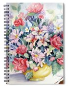 Lavendar And Lace Spiral Notebook