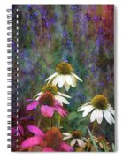 Lavender And Cones 1636 Idp_2 Spiral Notebook