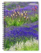 Lavender And Flowers Oh My Spiral Notebook