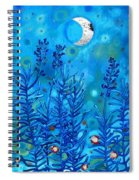 Lavender And Moon Spiral Notebook