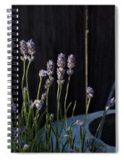 Lavender And Watering Can Spiral Notebook
