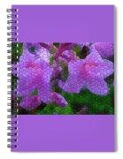 Lavender Azaleas Spiral Notebook