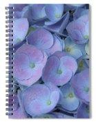 Lavender Blue Hydrangea Spiral Notebook