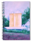Lavender Farm Albuquerque Spiral Notebook