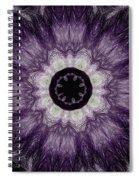 Lavender Iris Spiral Notebook