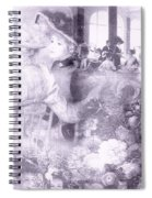 Lavender Ladies Spiral Notebook