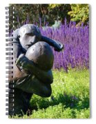 Lavender Lovers Spiral Notebook