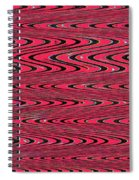 Lavender Metal Panel Abstract Spiral Notebook