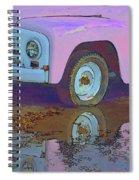 Lavender Reflections Spiral Notebook