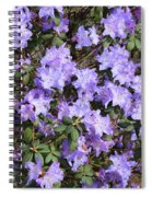 Lavender Rhododendrons Spiral Notebook