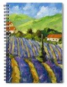 Lavender Scene Spiral Notebook