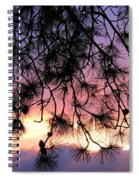Lavender Sunset Spiral Notebook