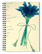 Lavender Tied With A Bow Spiral Notebook