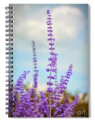 Lavender To The Sky Spiral Notebook