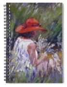 Lavender Treasure Spiral Notebook