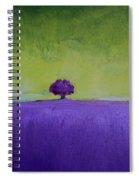 Lavender Valley Spiral Notebook
