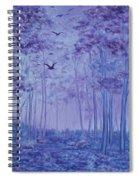 Lavender Woods Spiral Notebook