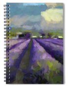 Lavenders Of South Spiral Notebook
