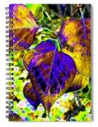 Lavish Leaves 3 Spiral Notebook