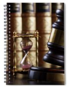 Law And Justice  Spiral Notebook