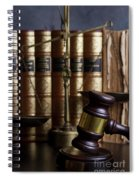 Law And Order Spiral Notebook