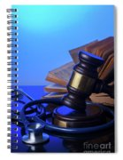 Medical Law Spiral Notebook