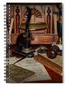 Lawyer - A Lawyers Desk Spiral Notebook