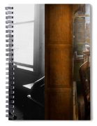 Lawyer - Always Taking Notes - 1902 - Side By Side Spiral Notebook