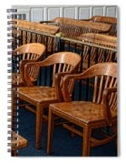 Lawyer - The Courtroom Spiral Notebook