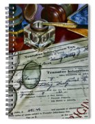 Lawyer - The Tax Attorney Spiral Notebook