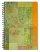 Layer Study - Turquoise Spiral Notebook