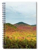 Layered Adirondack Colors Spiral Notebook