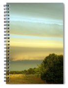 Layered Clouds Spiral Notebook