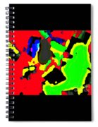 Layered Colors Spiral Notebook