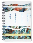 Layers, Beneath The Surface, No.2 Of 4  Spiral Notebook