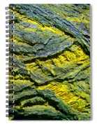 Layers In Blue And Yellow Spiral Notebook