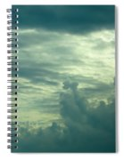 Layers Of Clouds Spiral Notebook