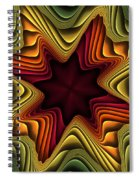 Layers Of Color Spiral Notebook