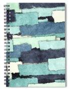 Layers Of Colors Pattern Spiral Notebook