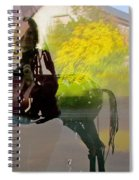 Layers Of Remembering Spiral Notebook