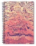 Layers Of Sand Spiral Notebook