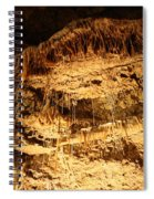 Layers Of Time - Cave Spiral Notebook